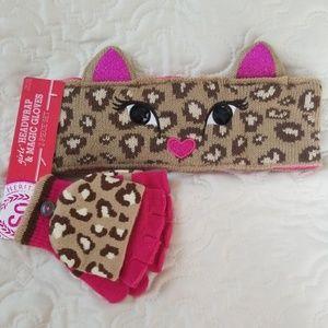 SO Heritage Girls Headwrap & Magic Gloves Set